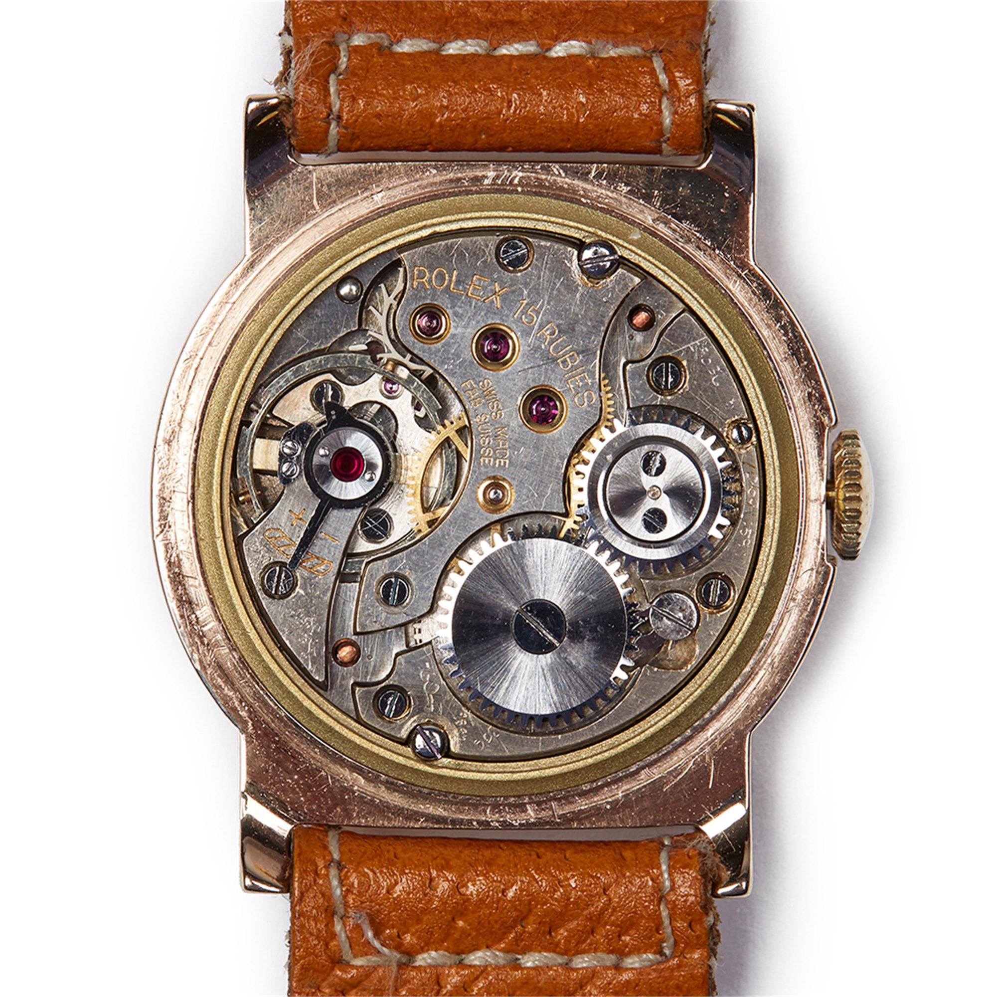 Rolex 9K Geel Goud Geel Goud 2467