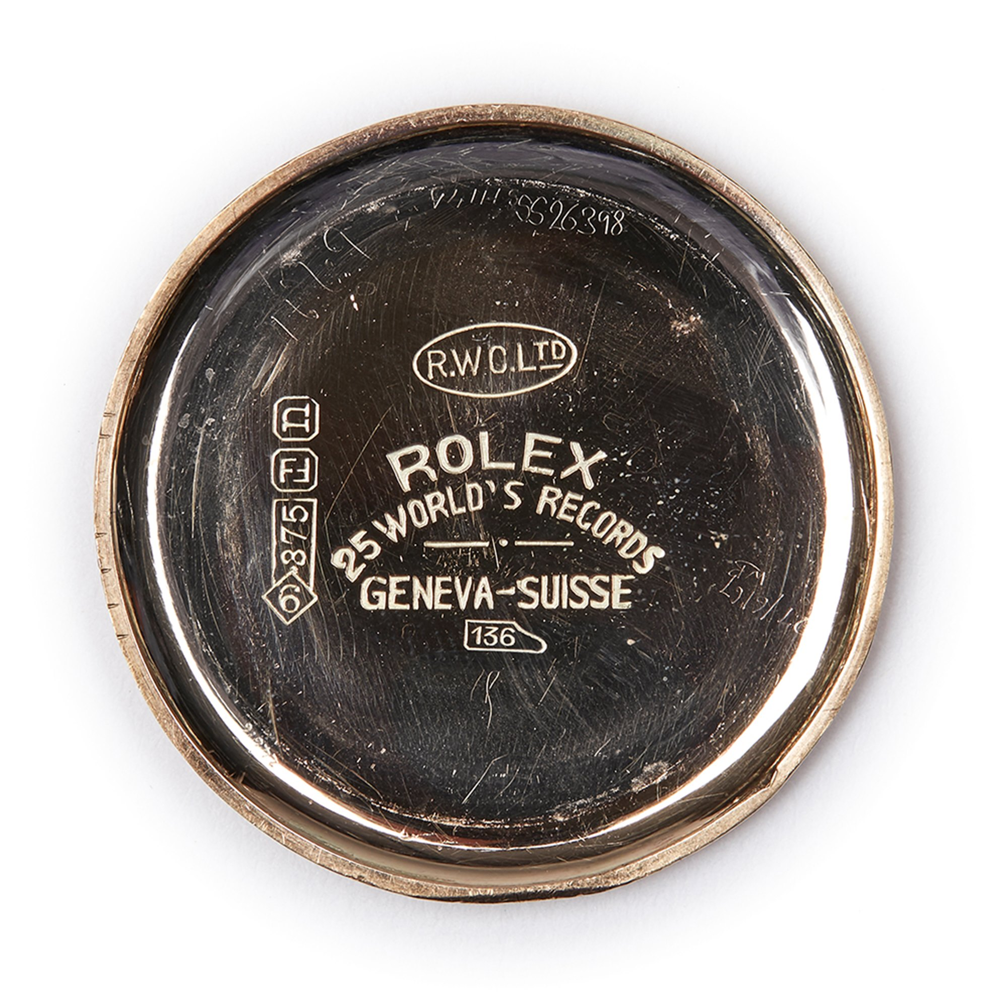 Rolex Vintage 9K Yellow Gold 2467
