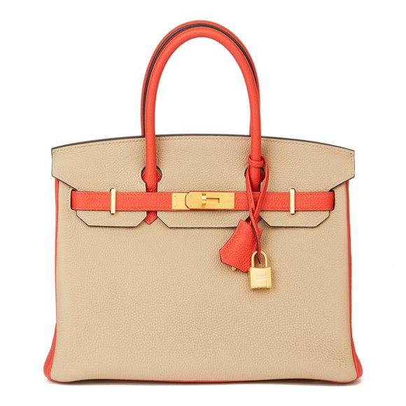 Hermès Trench & Capucine Togo Leather Special Order Birkin 30cm