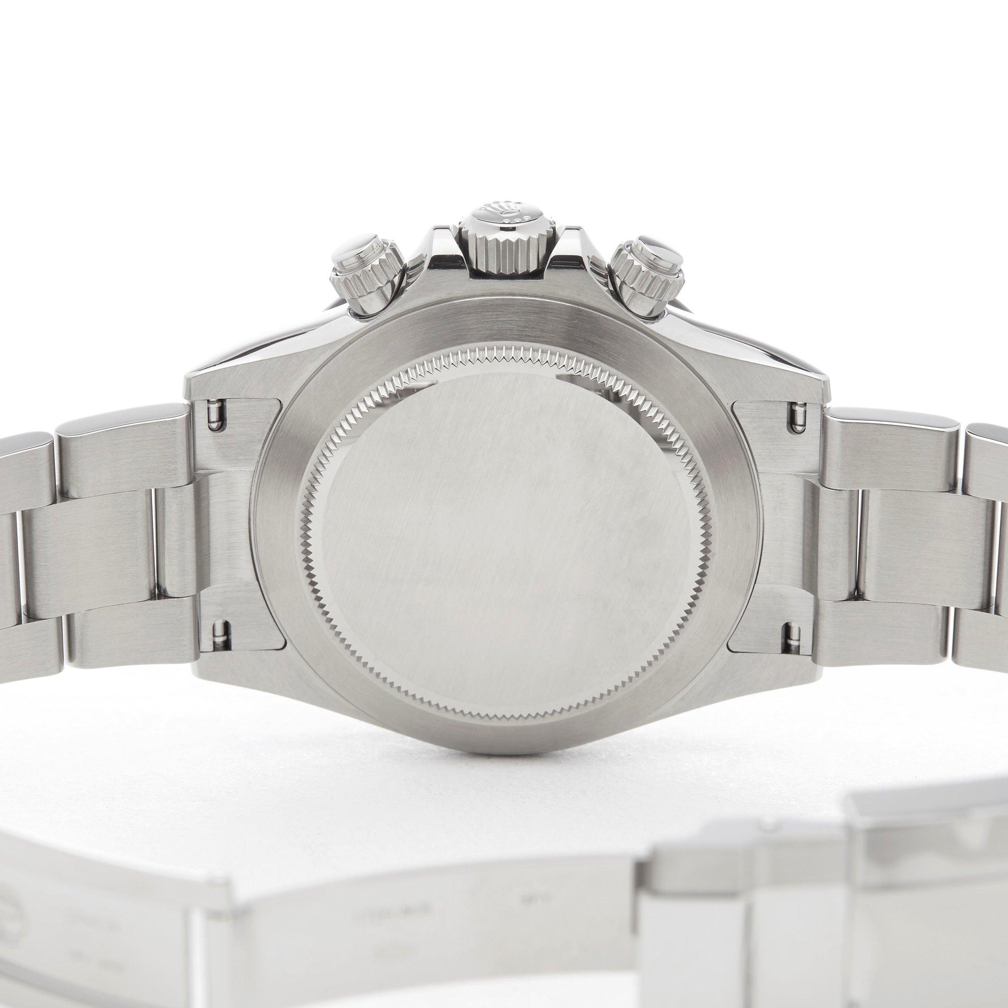 Rolex Daytona Chronograph Stickered Stainless Steel 116500LN