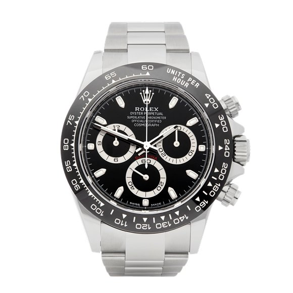 Rolex Daytona Chronograph Stickered Stainless Steel - 116500LN
