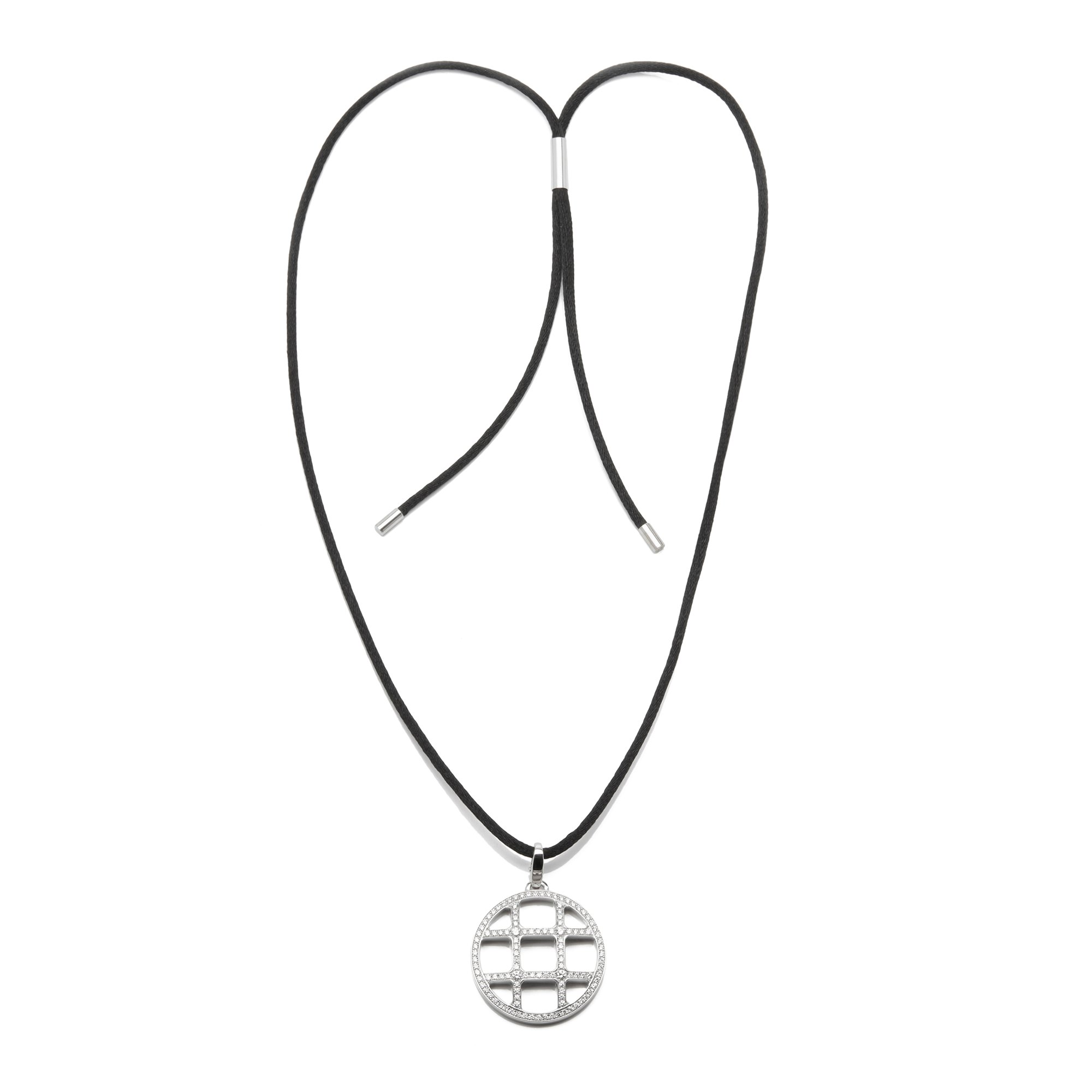 Cartier 18k White Gold Pasha Necklace