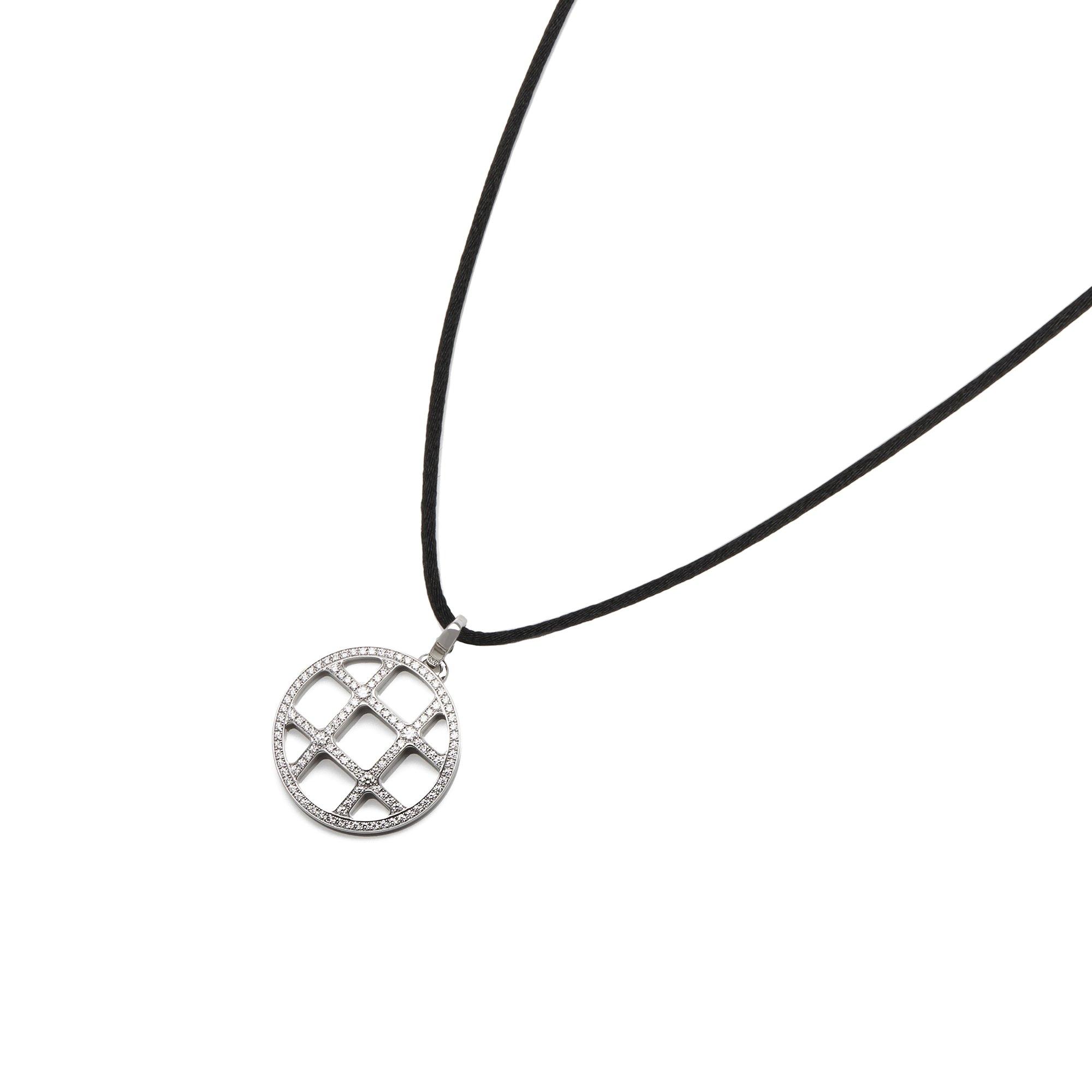 Cartier 18k White Gold Pasha Necklace