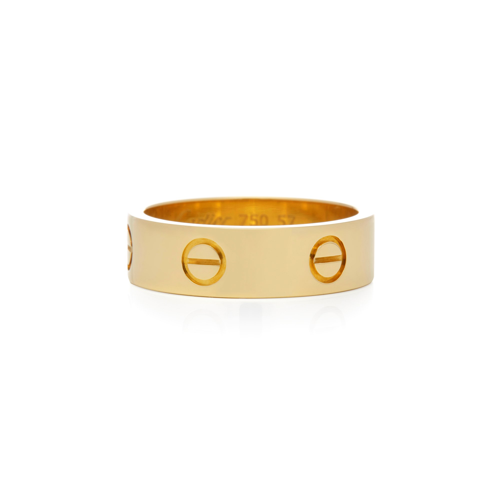 Cartier 18k Yellow Gold Love Ring