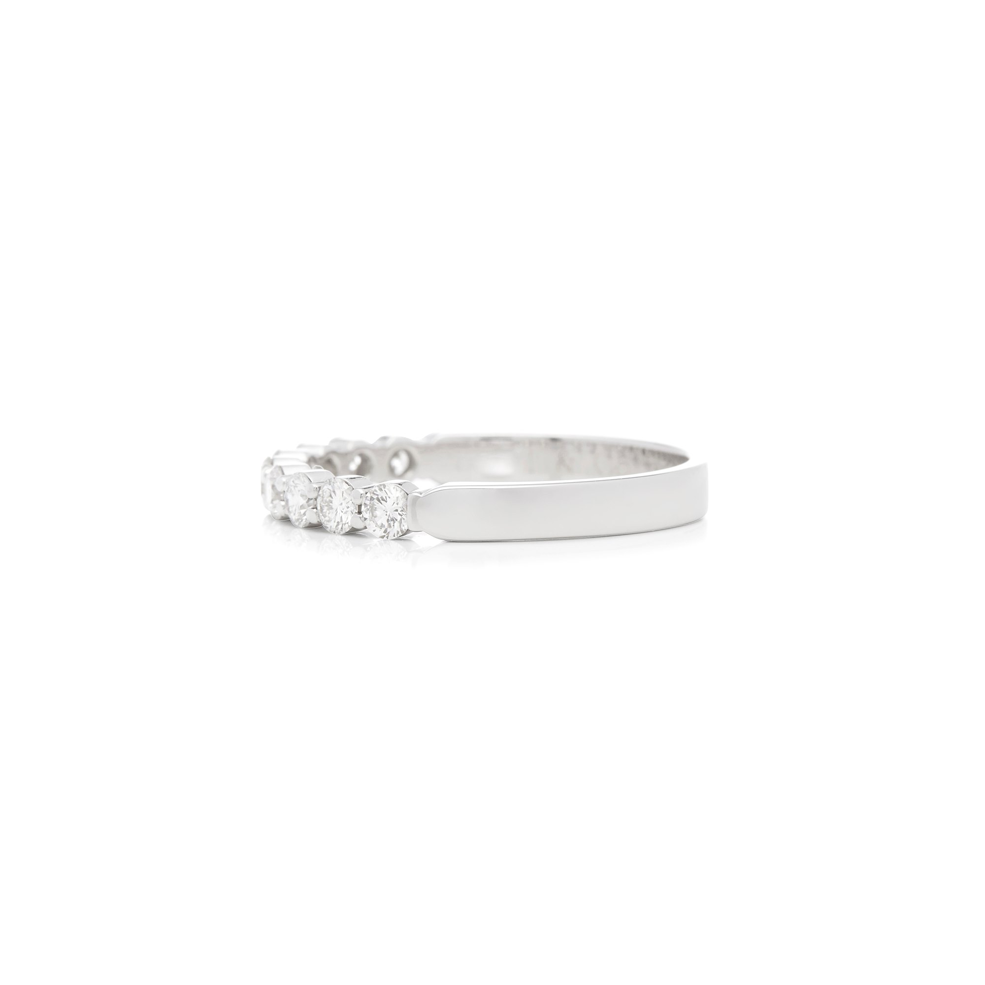 Tiffany & Co. 18k White Gold Embrace Ring