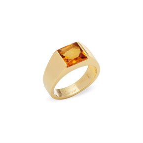 Cartier 18ct Yellow Gold Tank Ring