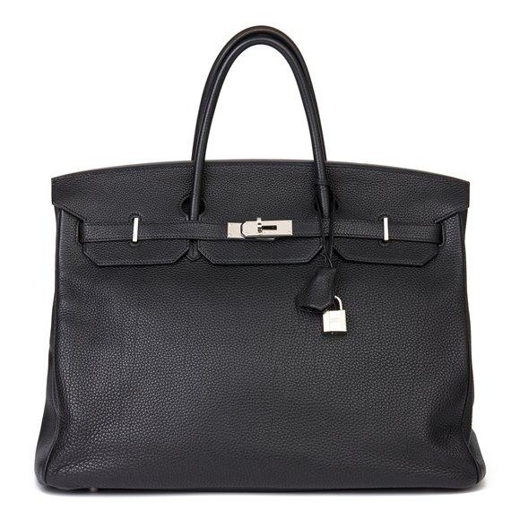 Hermès Black Togo Leather Birkin 40cm