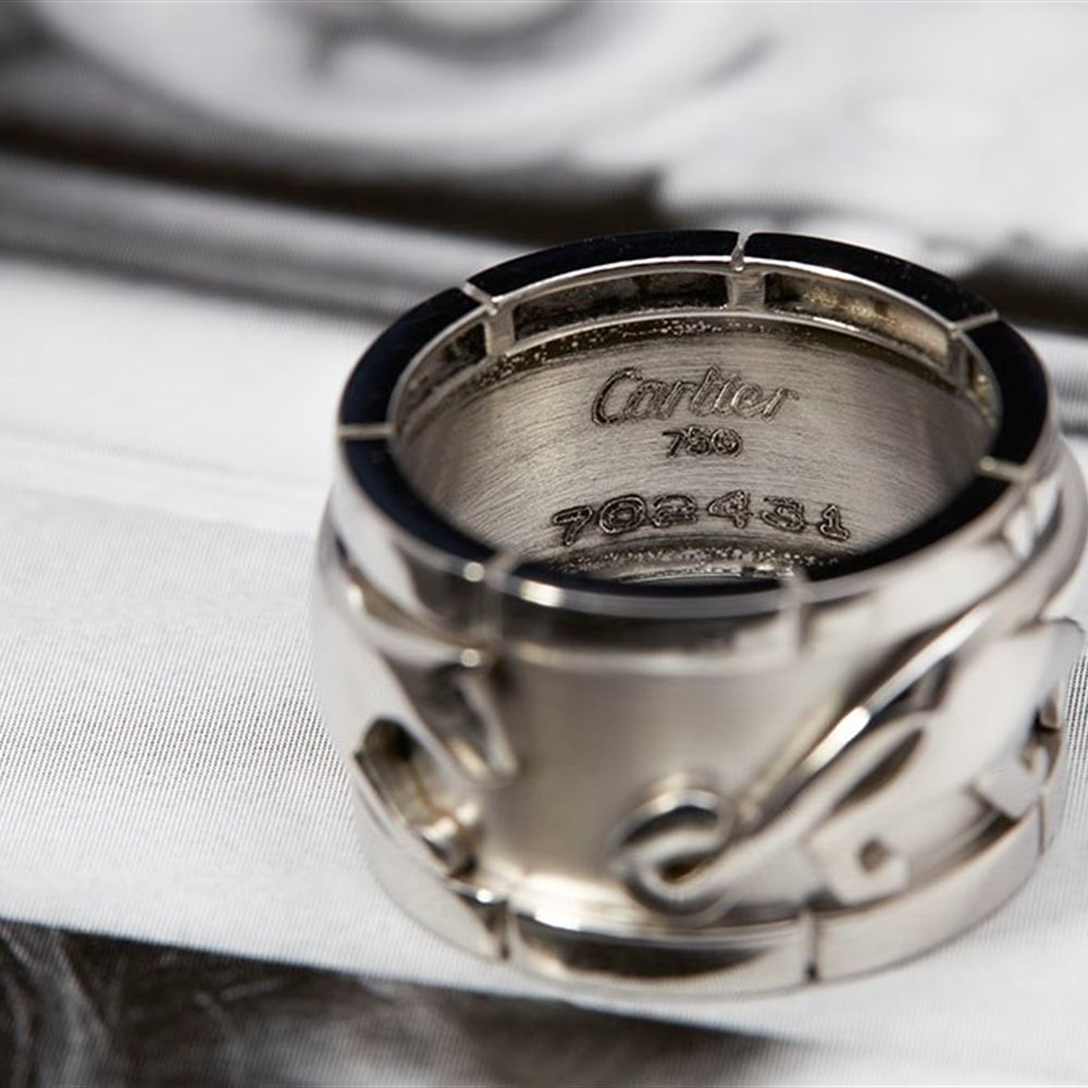Cartier Special Edition 18k White Gold Ring