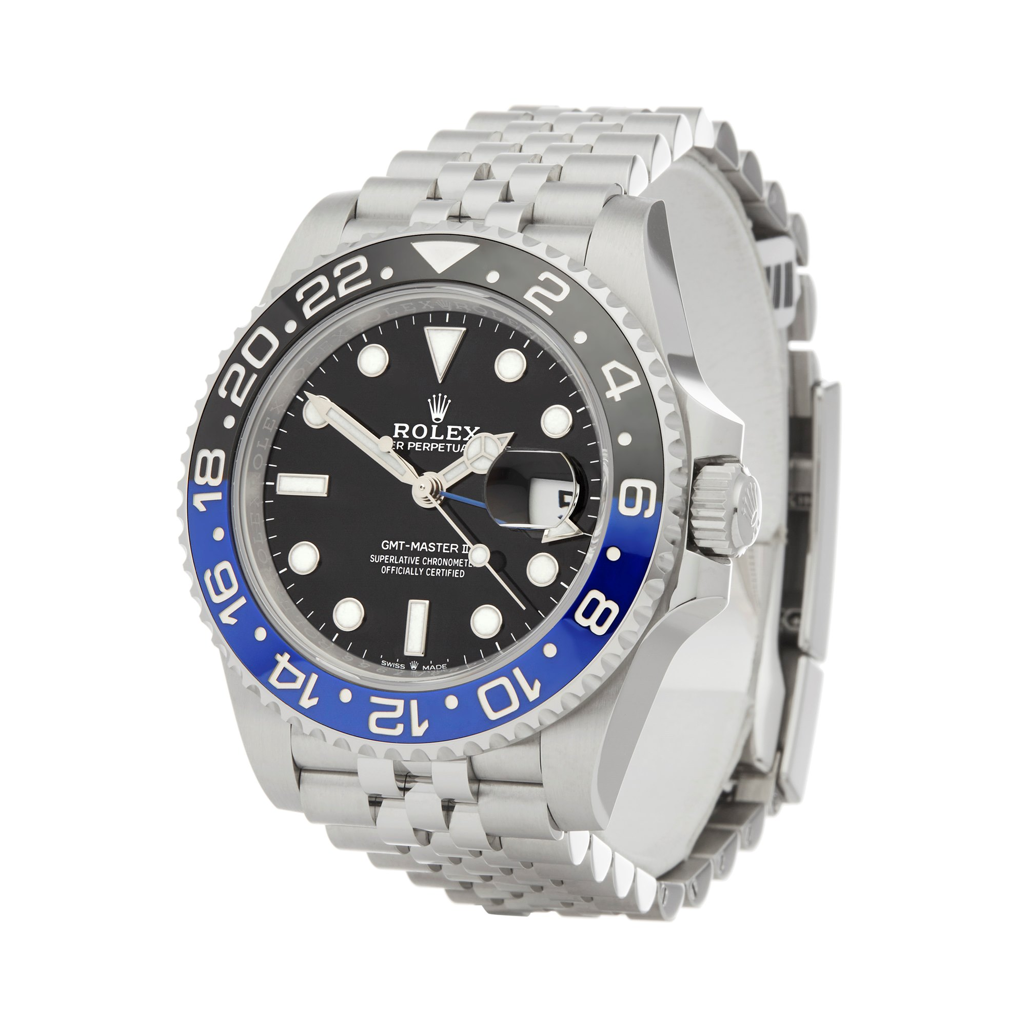 Rolex GMT-Master II Batman Stainless Steel 126710BLNR