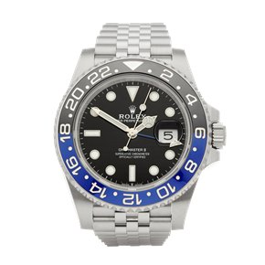 Rolex GMT-Master II Batman Stainless Steel - 126710BLNR
