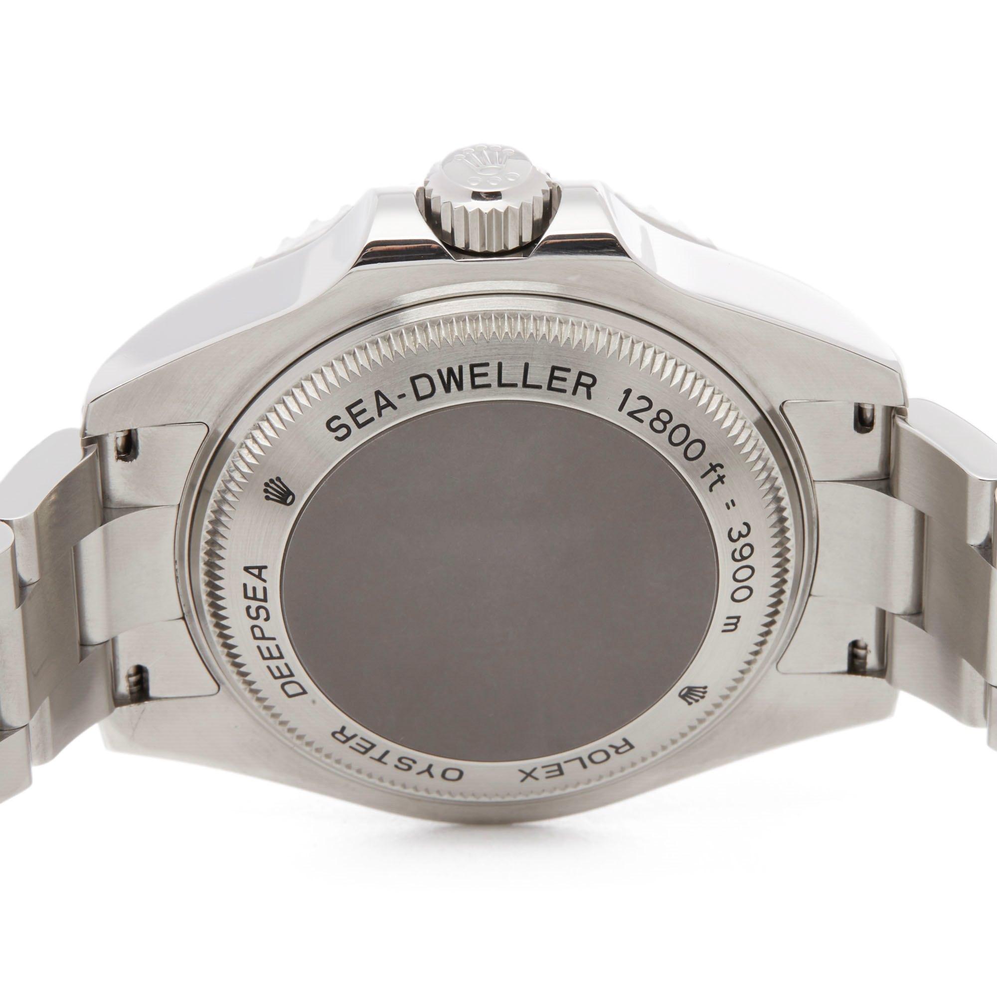 Rolex Sea-Dweller Deep Sea Stainless Steel 116660