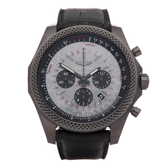 Breitling Bentley Midnight Chronograph Ltd Edition of 500 Dlc Coated Stainless Steel - MB061113