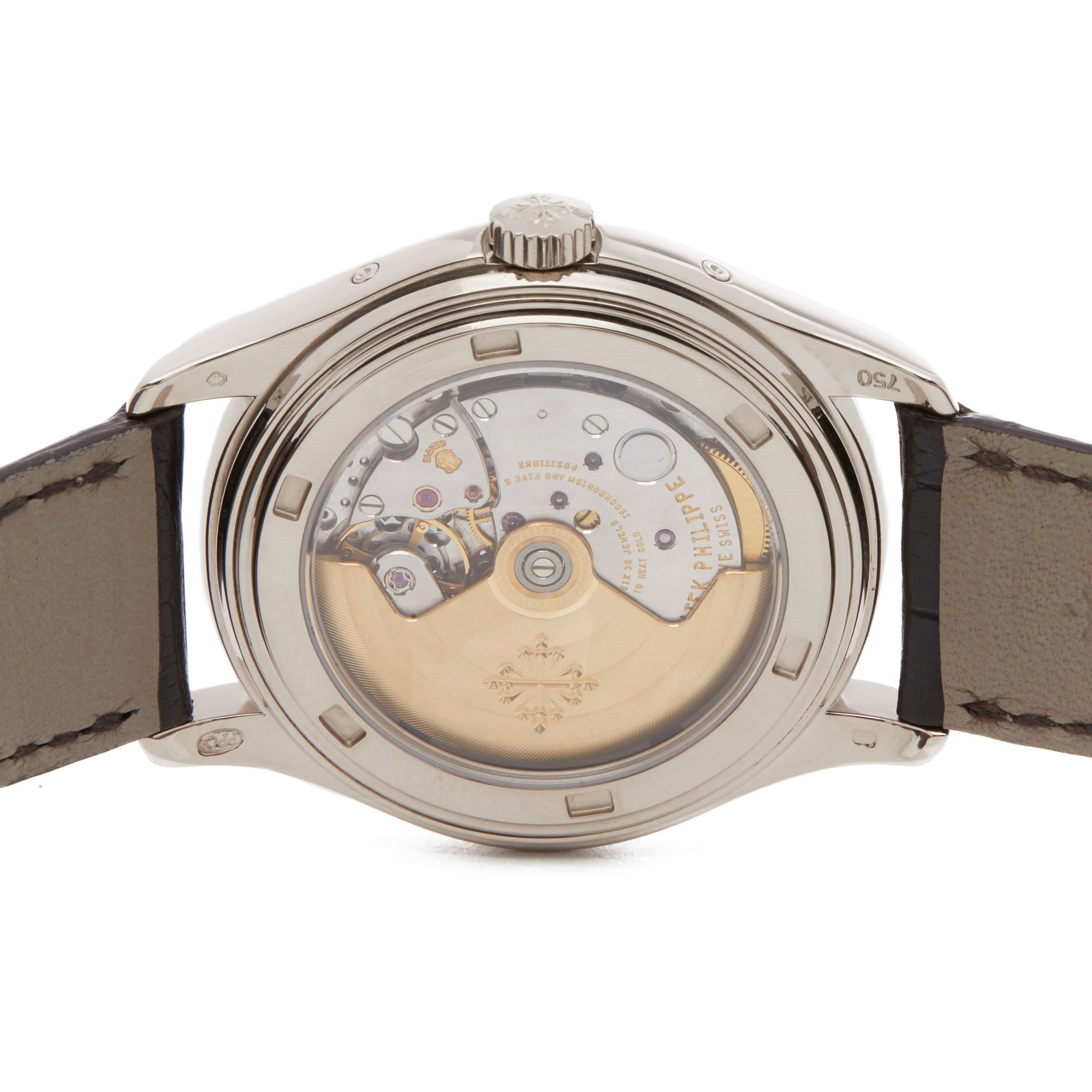 Patek Philippe Complication Annual Calendar 18K White Gold 5146G