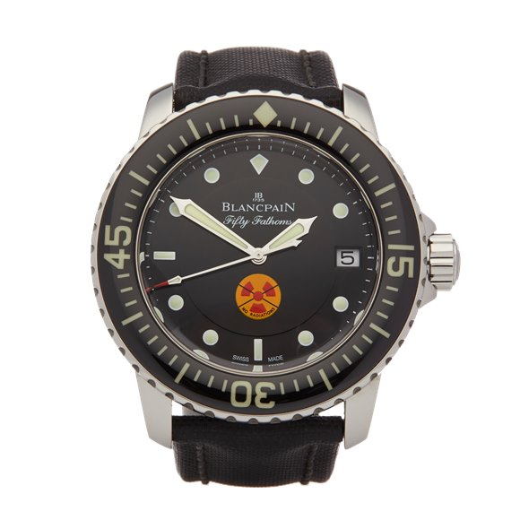 Blancpain Fifty Fathoms Tribute to Fifty Fathoms Limited Edition of 500 Stainless Steel - NO5075B071030