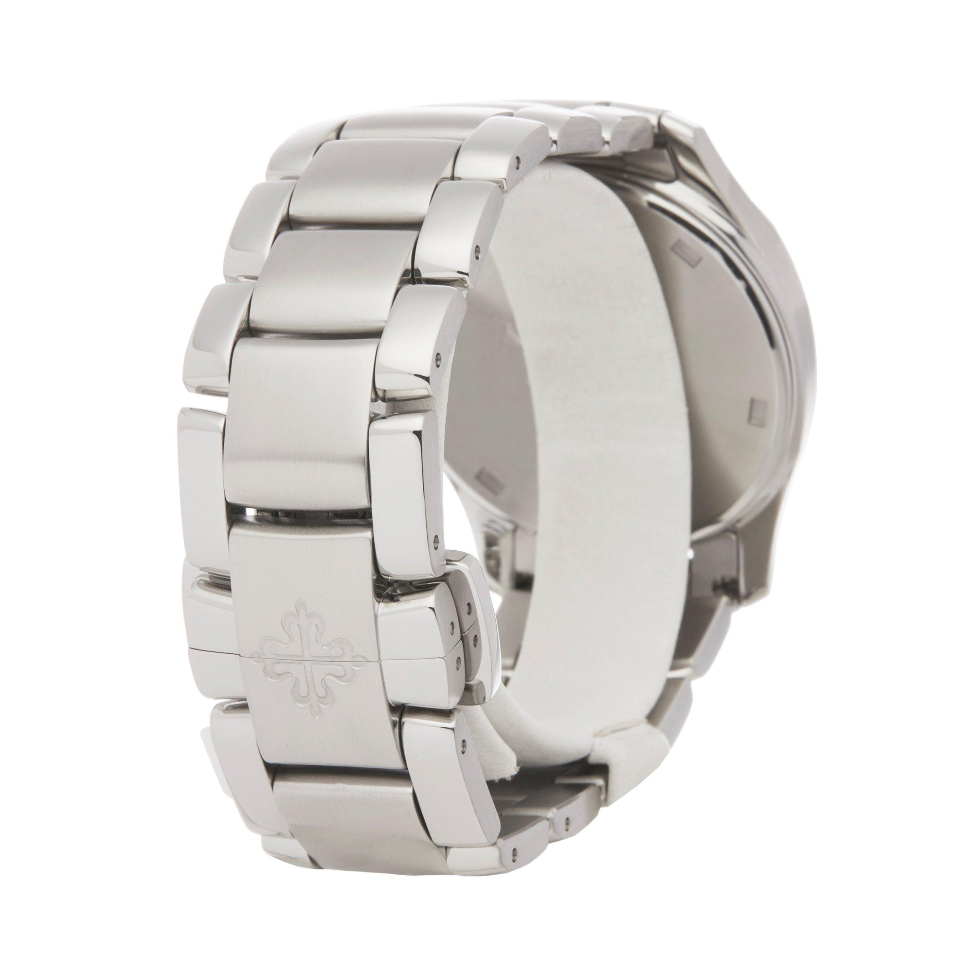 Patek Philippe Aquanaut Diamond Stainless Steel 5087/1A-010