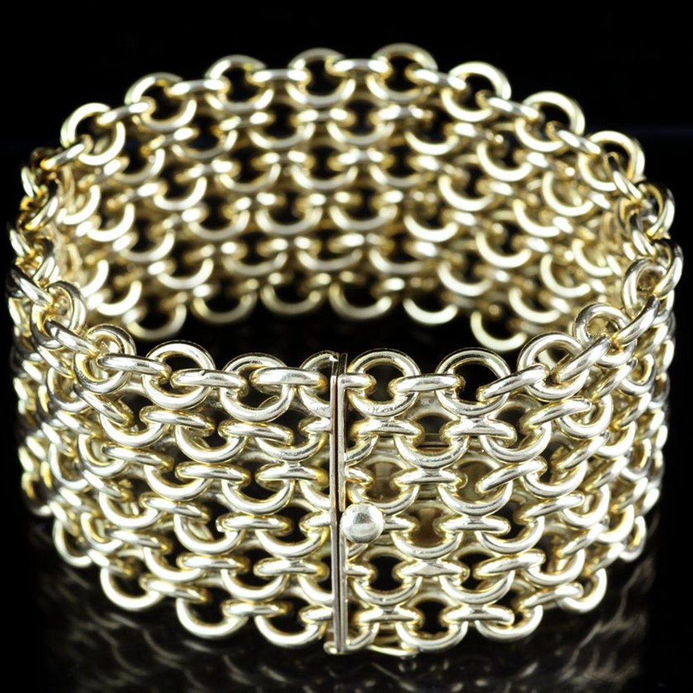 18K Yellow Gold  18k Yellow Gold Chain Link Bracelet