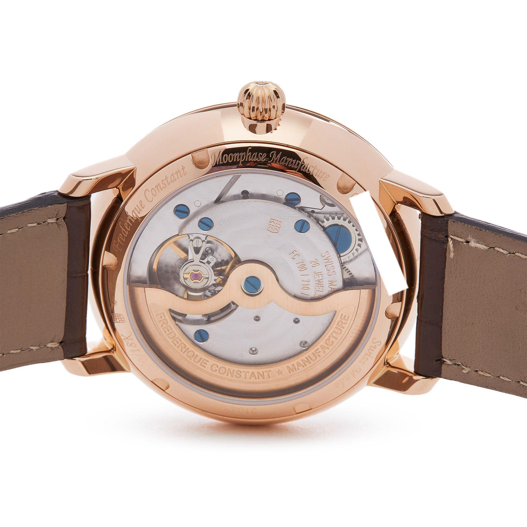 Frederique Constant Moonphase Ultra Thin 18K Rose Goud FC-705X4S9