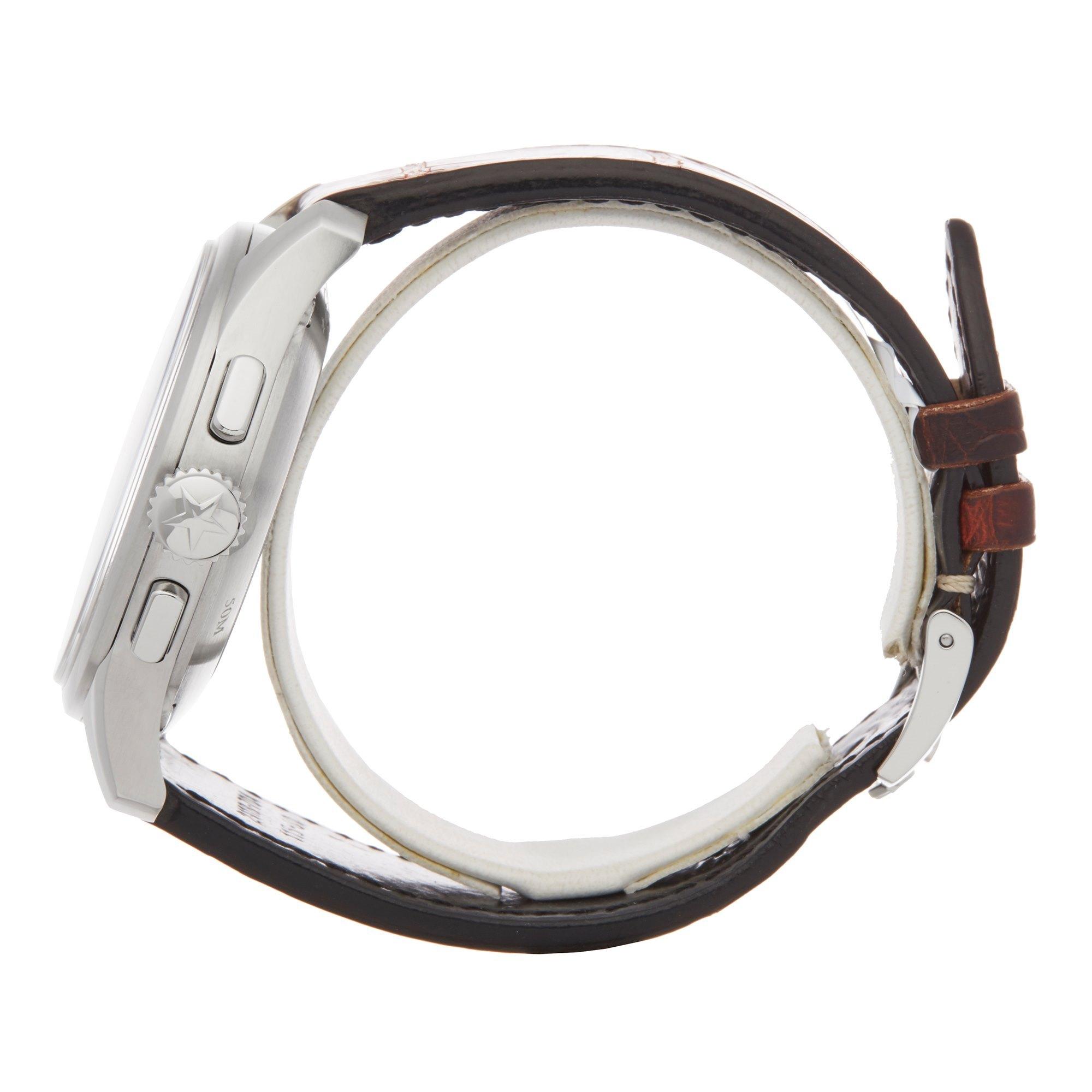 Zenith El Primero Pilot Chronograph Stainless Steel 03.2117.4002