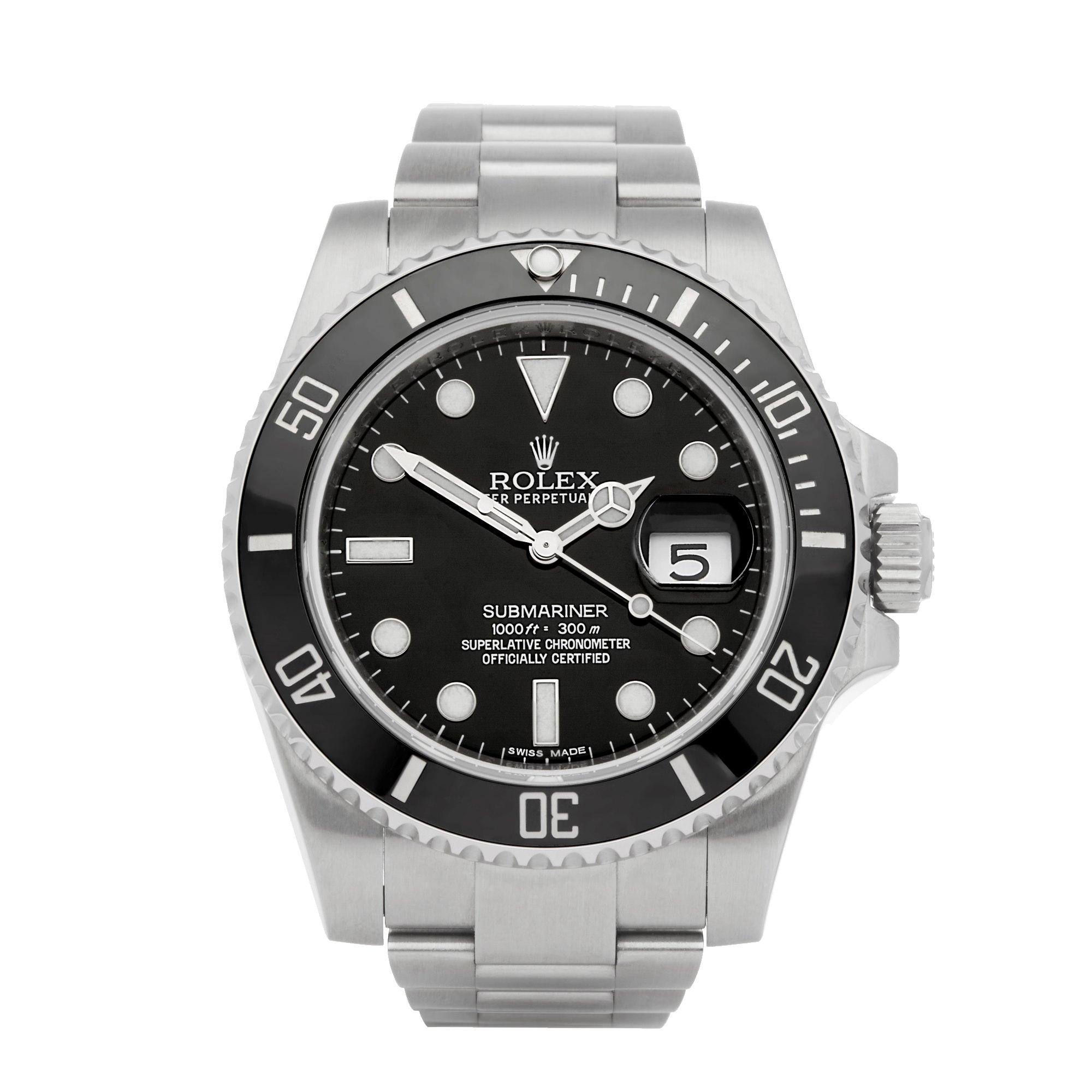 Rolex Submariner Date Roestvrij Staal 116610LN