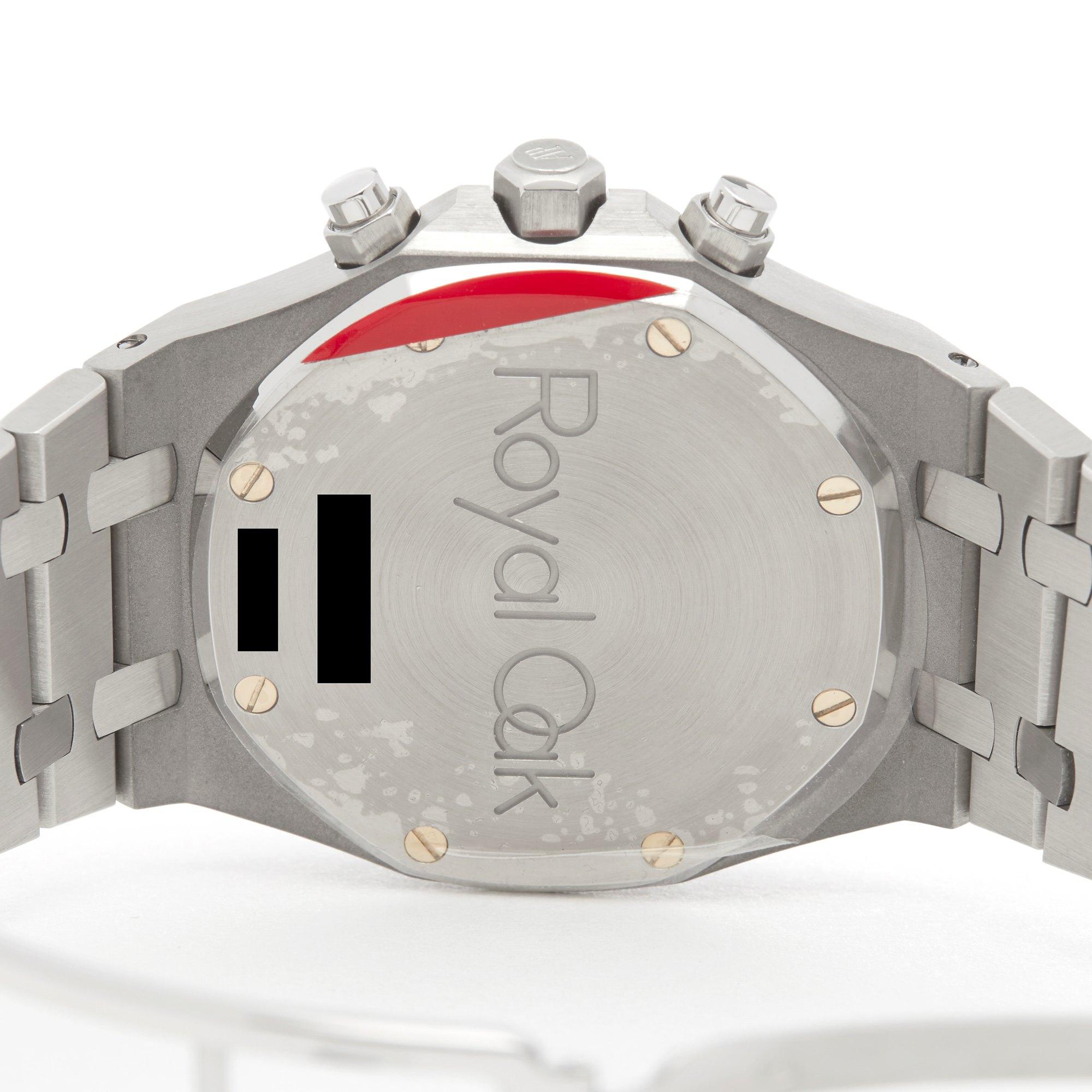 Audemars Piguet Royal Oak Kasparov Chronograph Roestvrij Staal 25860ST.OO.1110ST.01