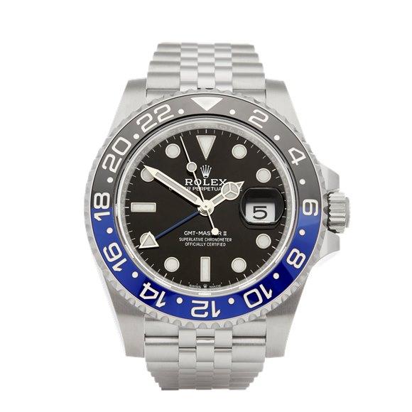 Rolex GMT-Master II Batman Stainless Steel - 126710BLNR