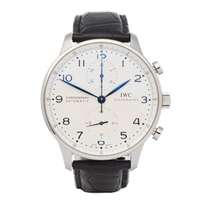 IWC Portuguese Classic Chronograph Stainless Steel - IW3714