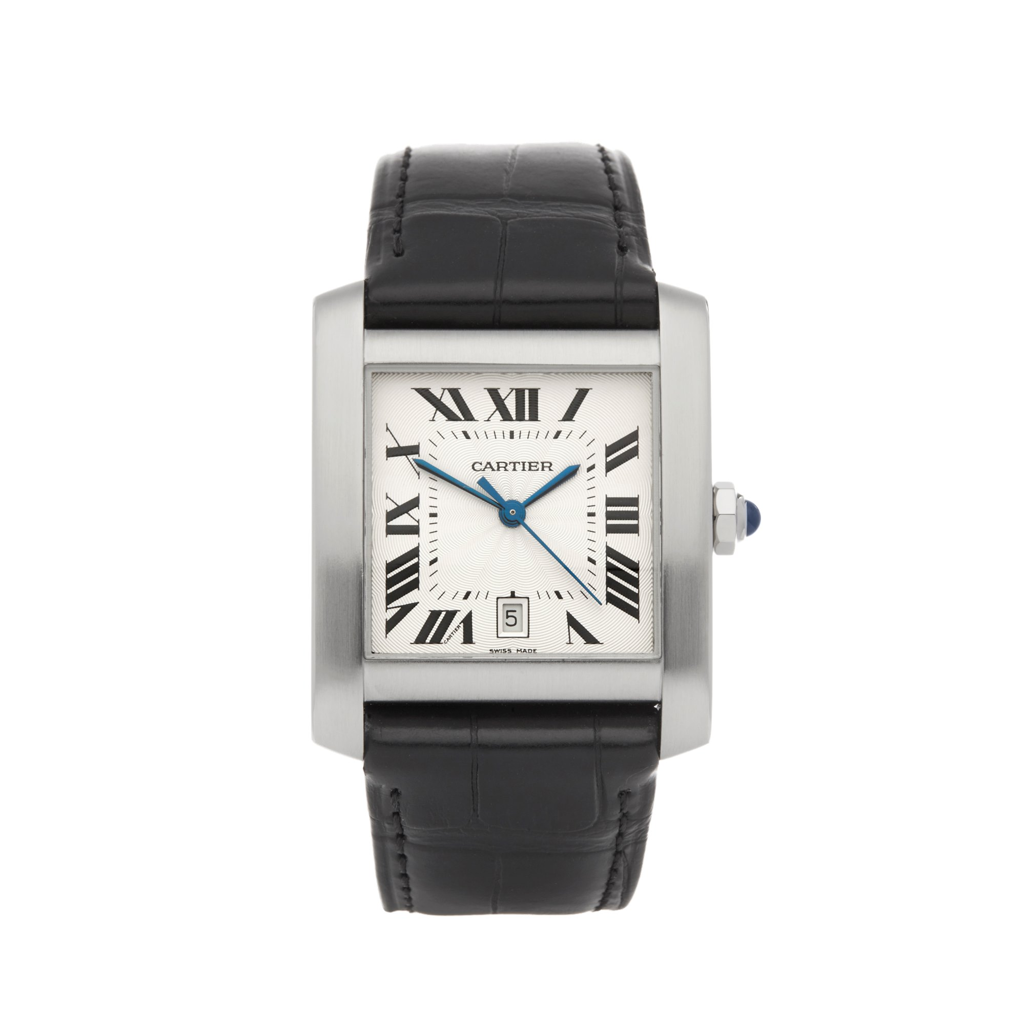 Cartier Tank Francaise Stainless Steel 2564 or W5101755