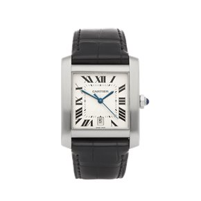 Cartier Tank Francaise Stainless Steel - 2564 or W5101755