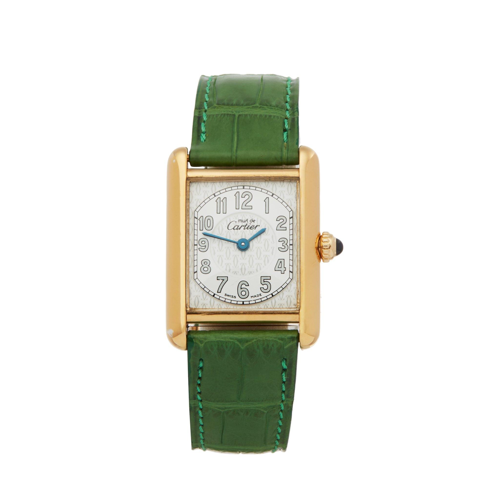 Cartier Must de Cartier Gold Plated 2415