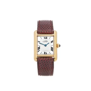 Cartier Must de Cartier Tank Gold Plated - 1613