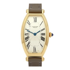 Cartier Tonneau Mecanique 18K Yellow Gold - 2451B