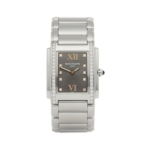 Patek Philippe Twenty-4 Diamond Stainless Steel - 4910A