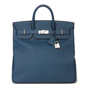 Hermès Bleu de Prusse Togo Leather Birkin 40cm HAC