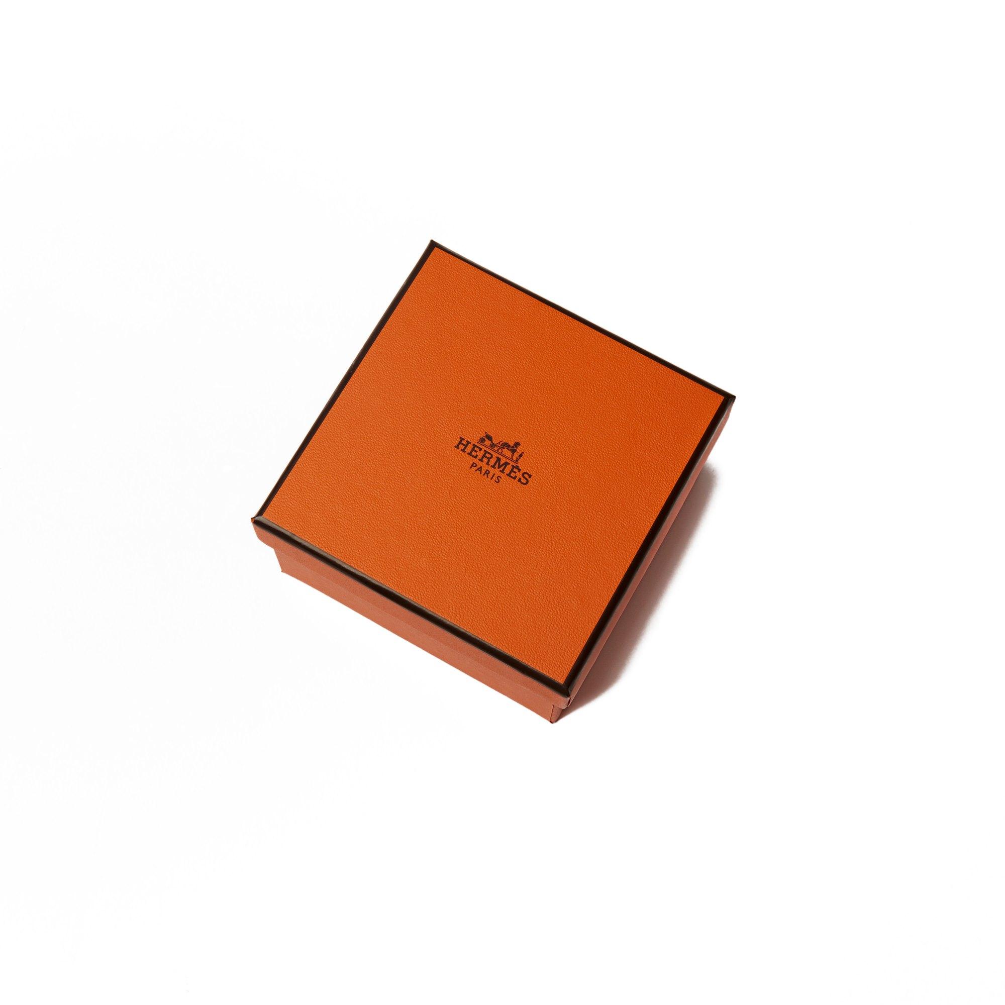 Hermès Black Epsom Leather Collier de Chien 24 T3