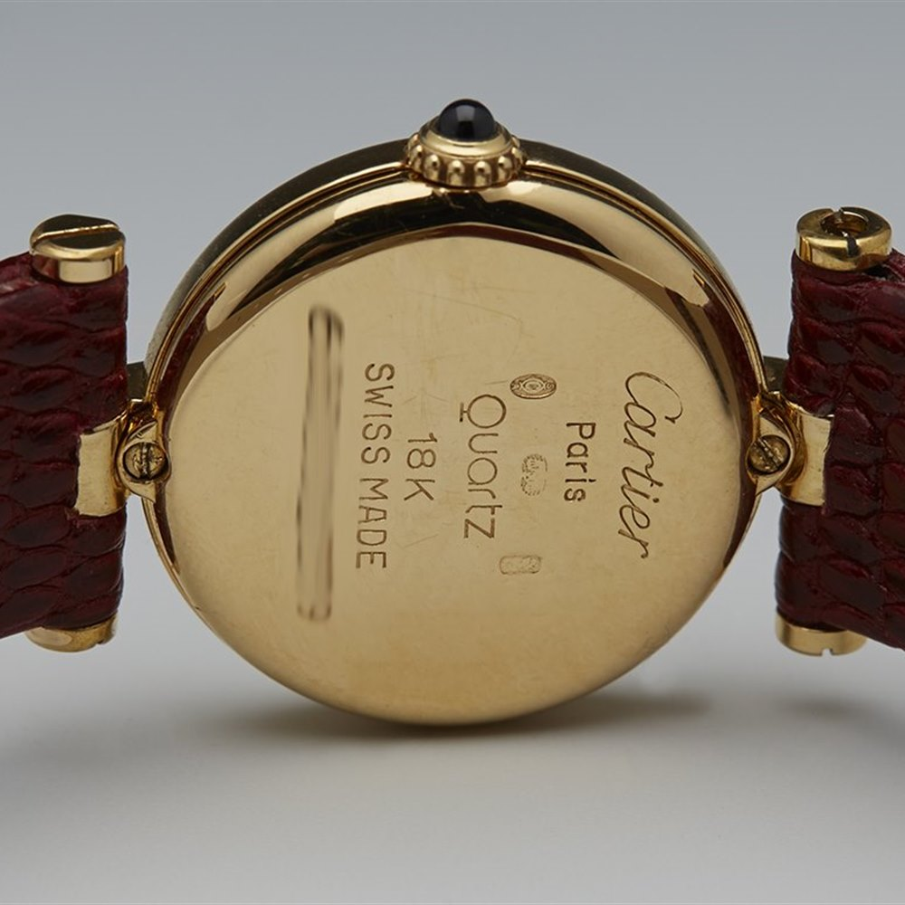 Cartier Ronde 18k Yellow Gold