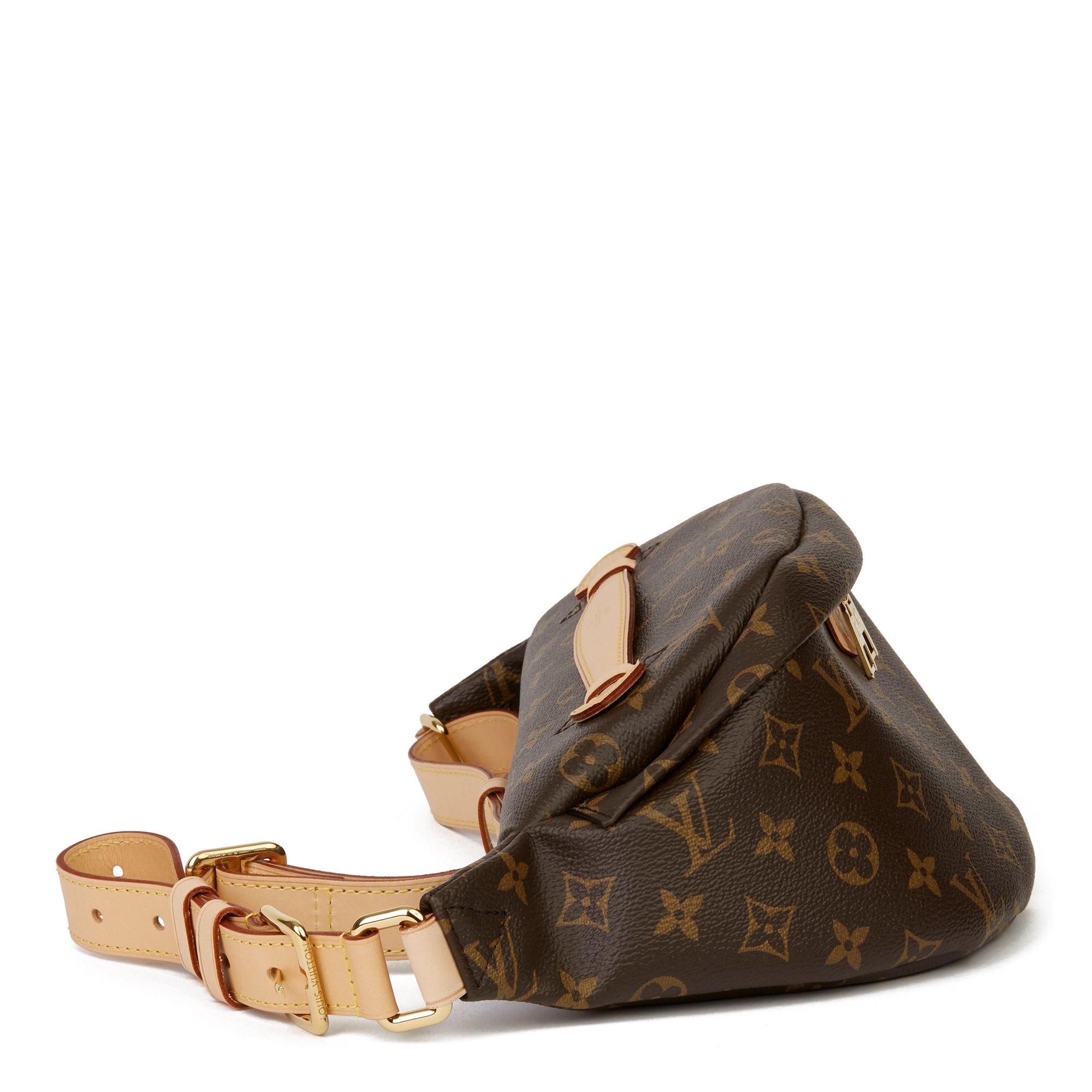 Louis Vuitton Brown Monogram Coated Canvas Bum Bag