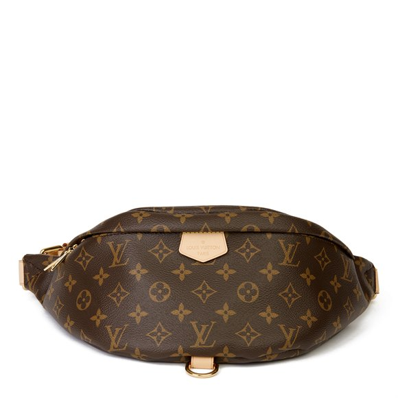 Louis Vuitton Brown Monogram Coated Canvas Bum Bag