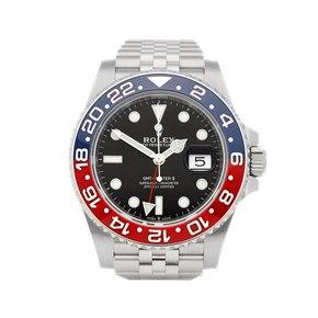 Rolex GMT-Master II Pepsi Stainless Steel - 126710BLRO
