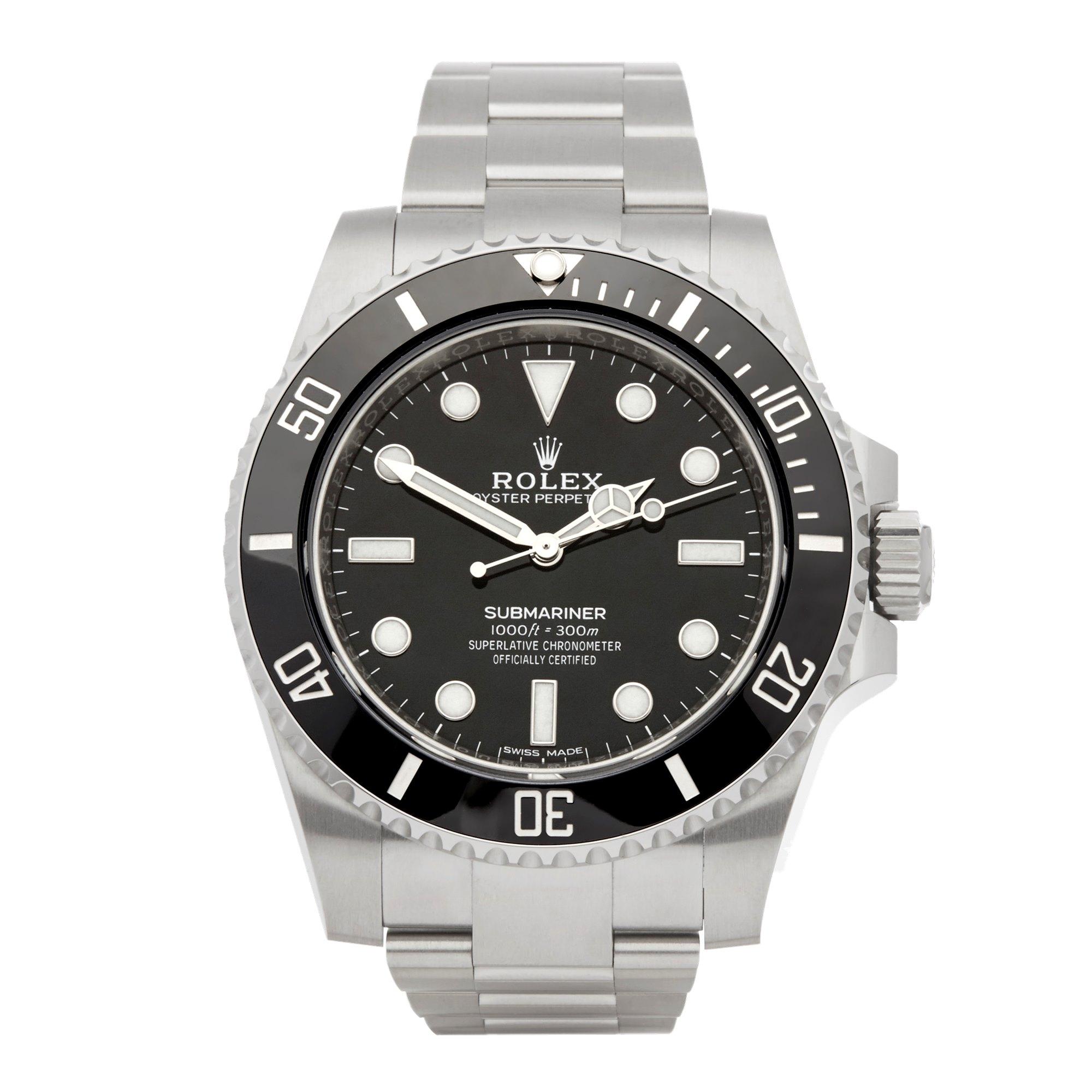 Rolex Submariner No Date Roestvrij Staal 114060