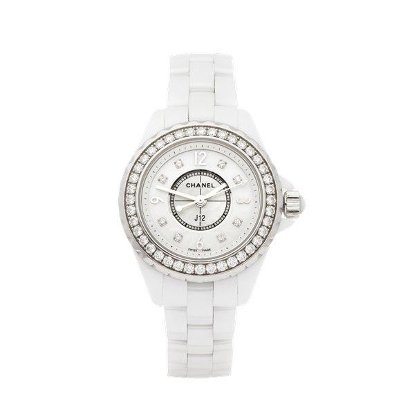 Chanel J12 Diamond Ceramic - H2572