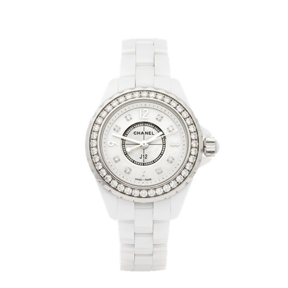 Chanel J12 Diamond Ceramic - H2572