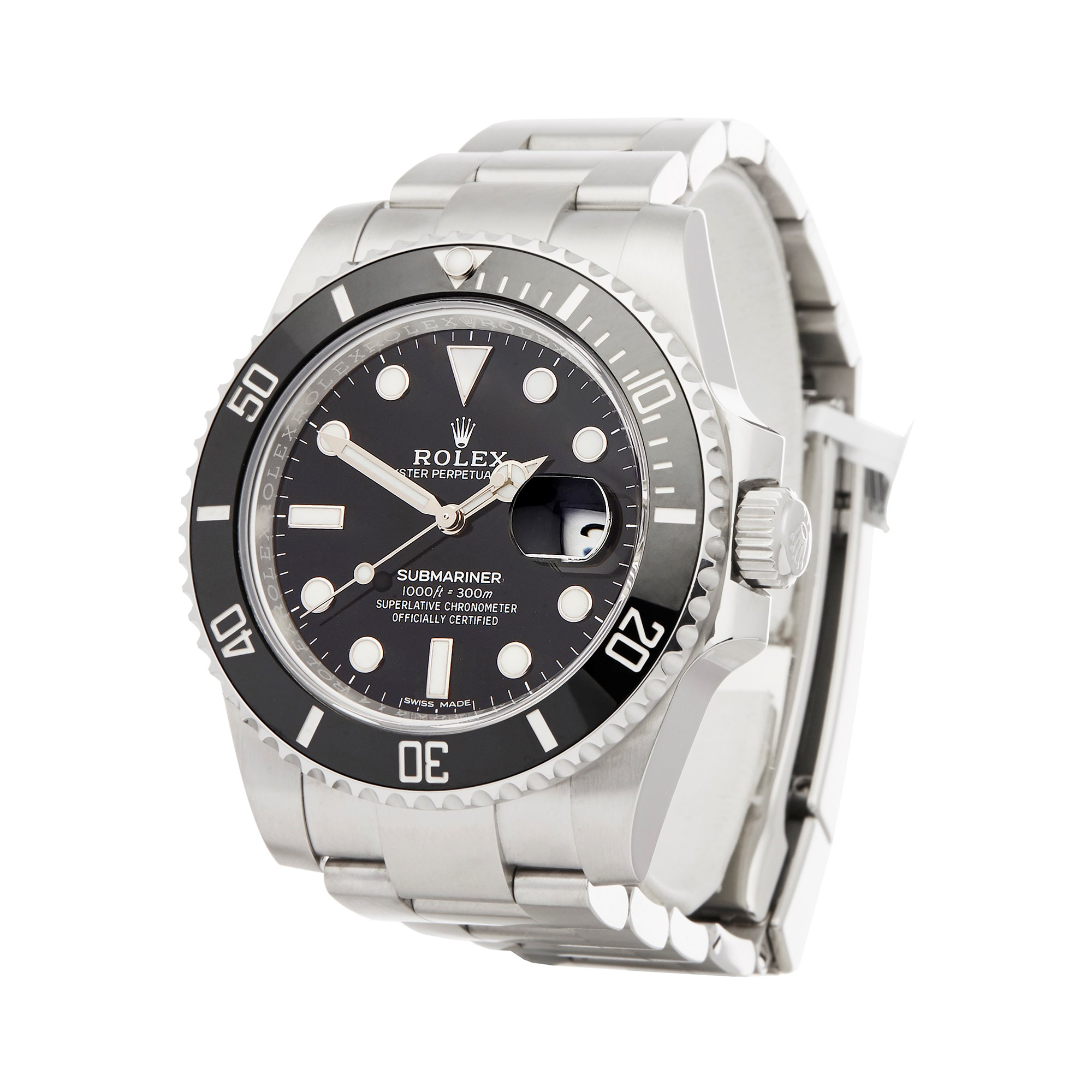 Rolex Submariner Date Roestvrij Staal 116610LN