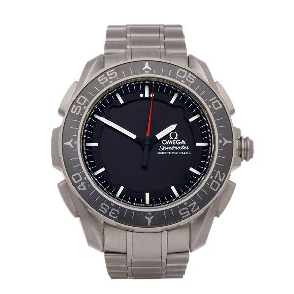 Omega Speedmaster Skywalker X-33 Chronograph Titanium - 318.90.45.79.01.001
