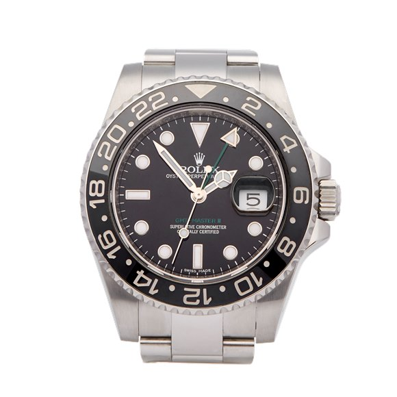 Rolex GMT-Master II Stainless Steel - 116710LN