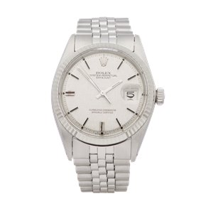 "Rolex Datejust 36 Linen Dial Sigma ""Aprior"" Stainless Steel - 1601"