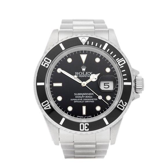Rolex Submariner Date Stainless Steel - 16610