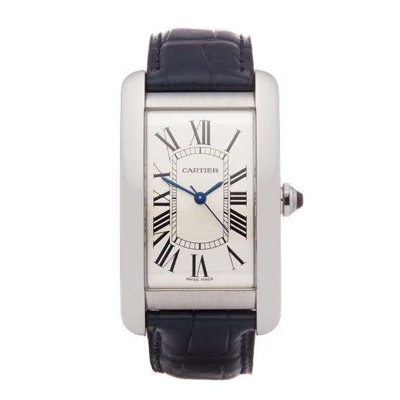 Cartier Tank Americaine Stainless Steel - 3972 or WSTA0018