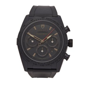 Tudor  Blackshield Chronograph Dlc Coated Stainless Steel - 42000CN