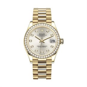Rolex Datejust 31 Diamond 18K Yellow Gold - 278288RBR-0028