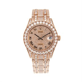 Rolex Datejust Pearlmaster Diamond 18K Rose Gold - 81405RBR-0001